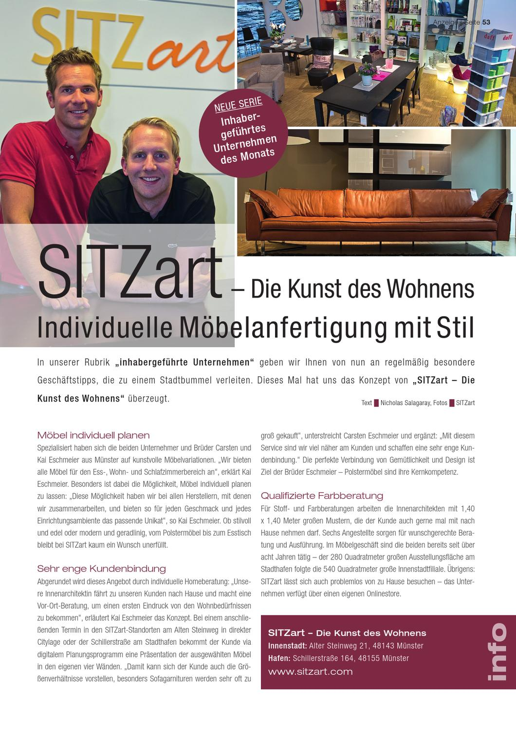 schlossallee m nster 5 12 by verlag issuu. Black Bedroom Furniture Sets. Home Design Ideas
