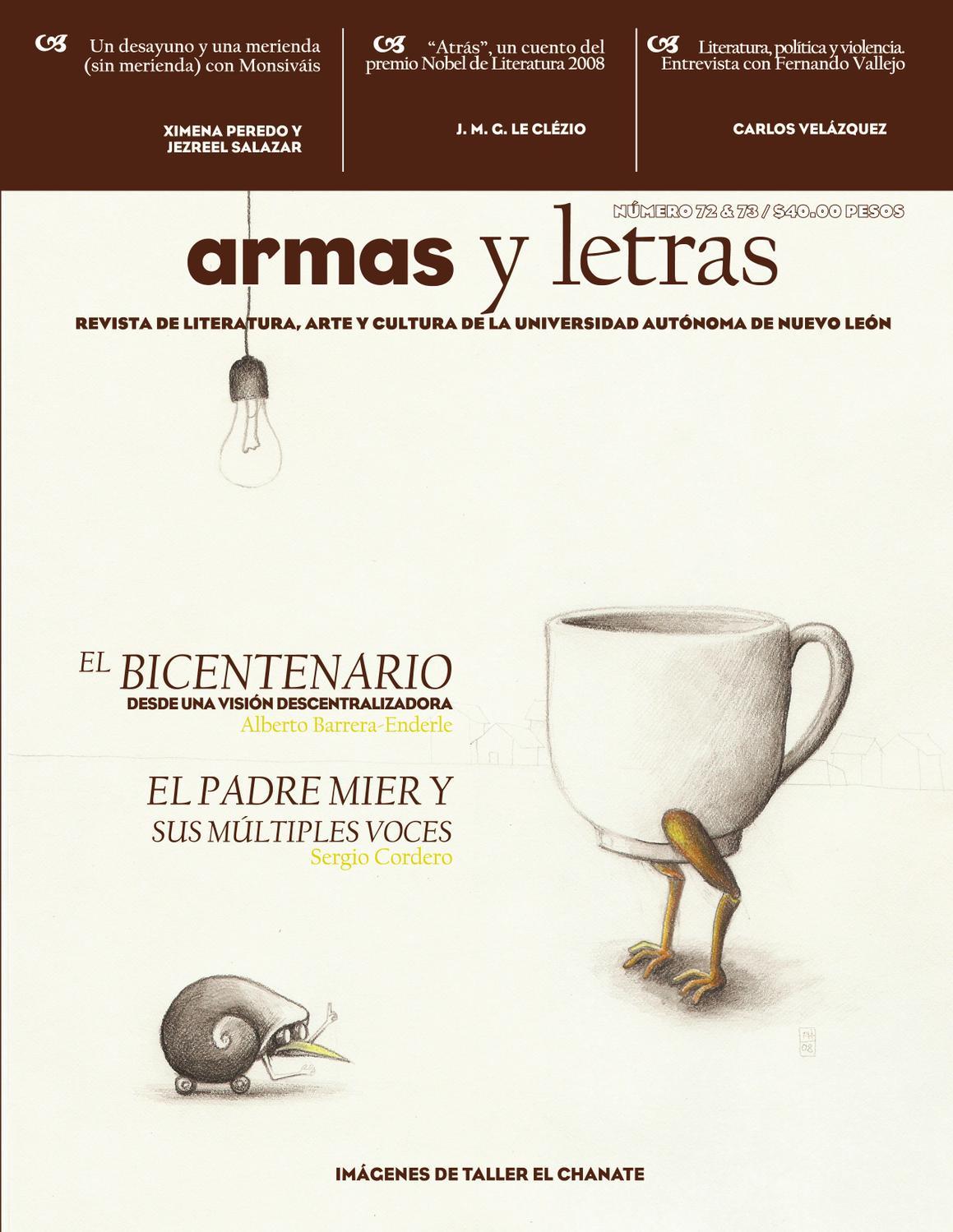 Armas y Letras 72-73 by Revista Armas y Letras - issuu