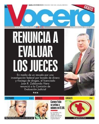 check out 5acd0 eea8a Edición 2 de octubre de 2012 by El Vocero de Puerto Rico - issuu