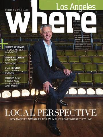 Where Los Angeles Magazine October 2012 By Socalmedia Issuu
