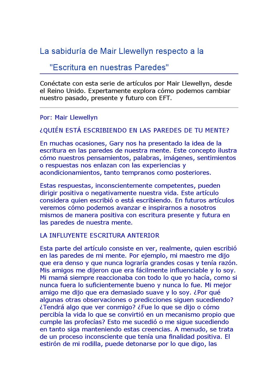Eft By Claudia Marcela Pena Issuu