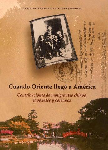 Cuando Oriente llegó a América  Contribuciones de inmigrantes chinos ... 7570bc0db9c