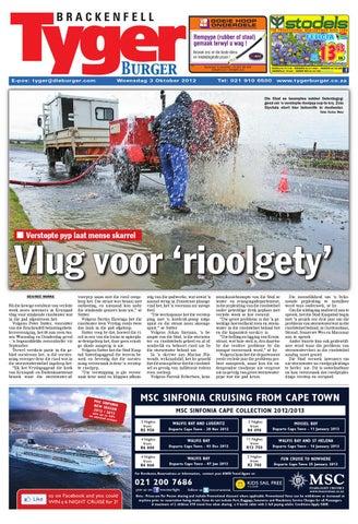 Tygerburger Brackenfell 3 Oct 2012 by Tygerburger Newspaper - issuu