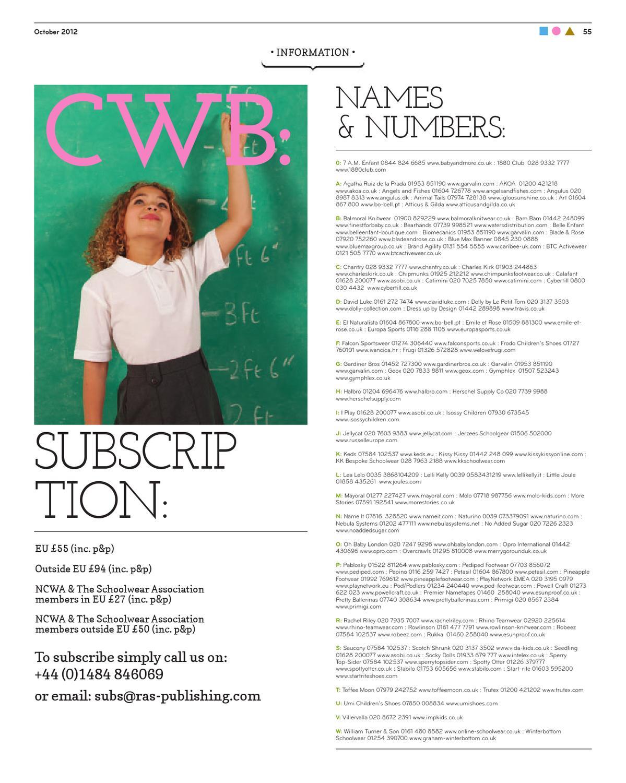 CWB magazine by fashion buyers Ltd - issuu