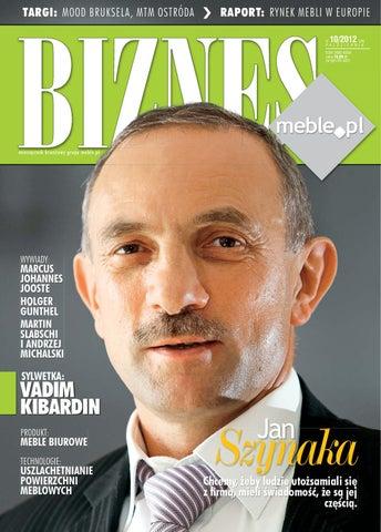 biznes meblepl wydanie pazdziernik 2012 by wydawnictwo