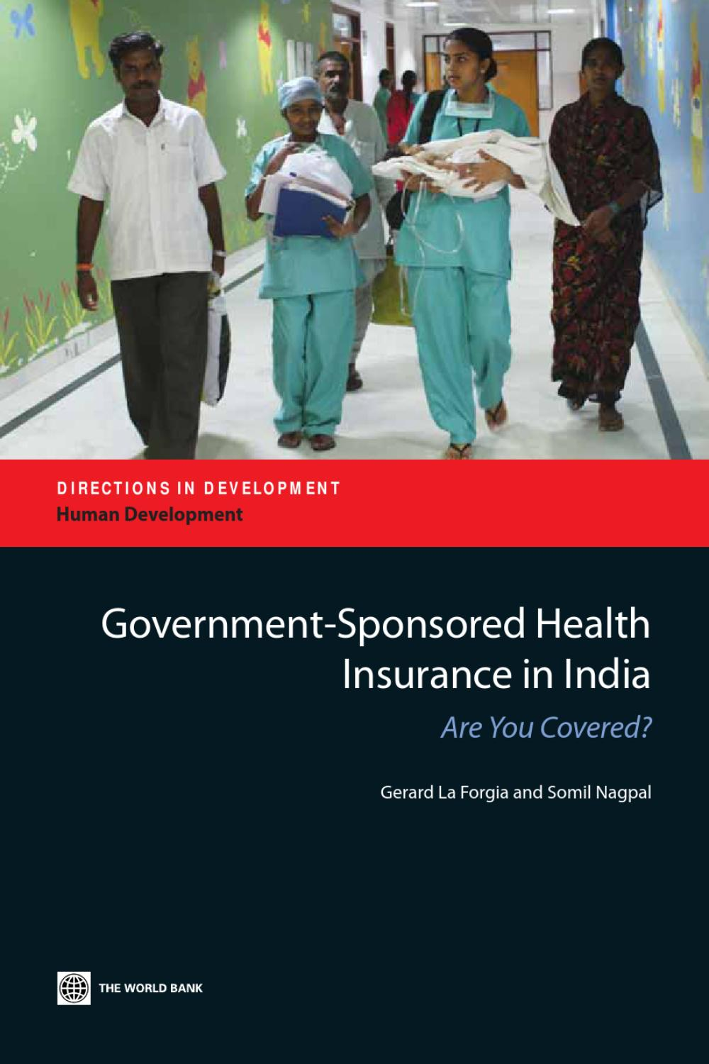 Government Sponsored Health Insurance in India by World