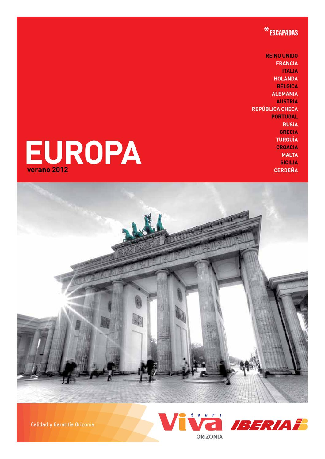 Viva Tours Issuu Vivatours Europa By rQthsdC