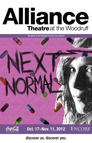 October 2012 Next To Normal At The Alliance Theatre By Encore