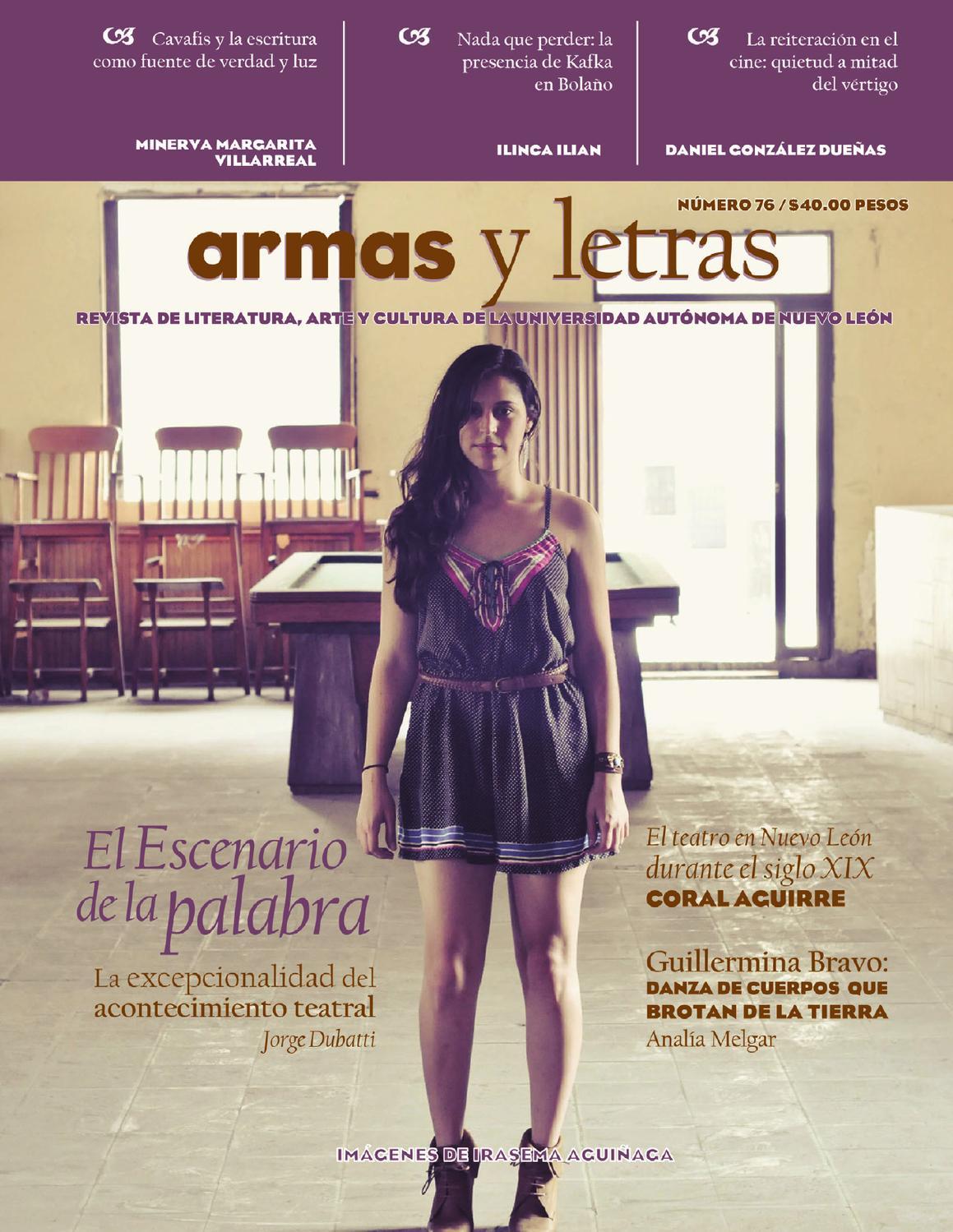 Armas y Letras 76 by Revista Armas y Letras - issuu