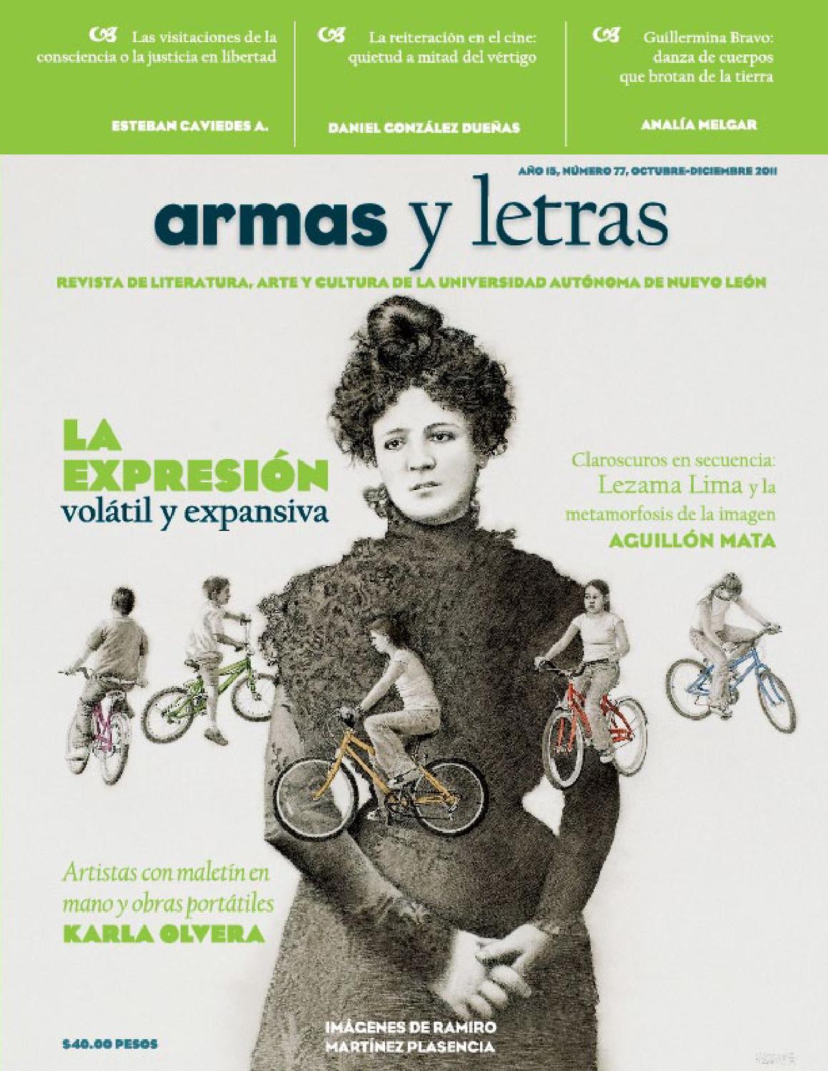 Armas y Letras 77 by Revista Armas y Letras - issuu