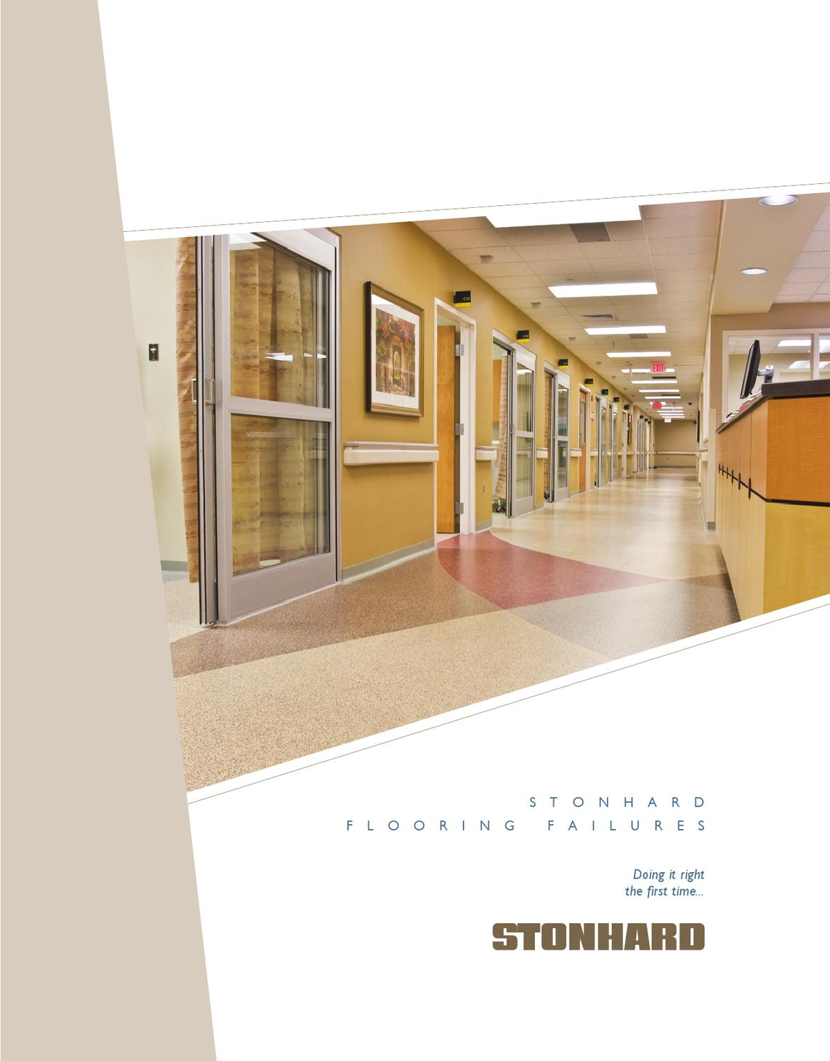 Stonhard Flooring Failures Brochure By Jennifer Gandy   Issuu