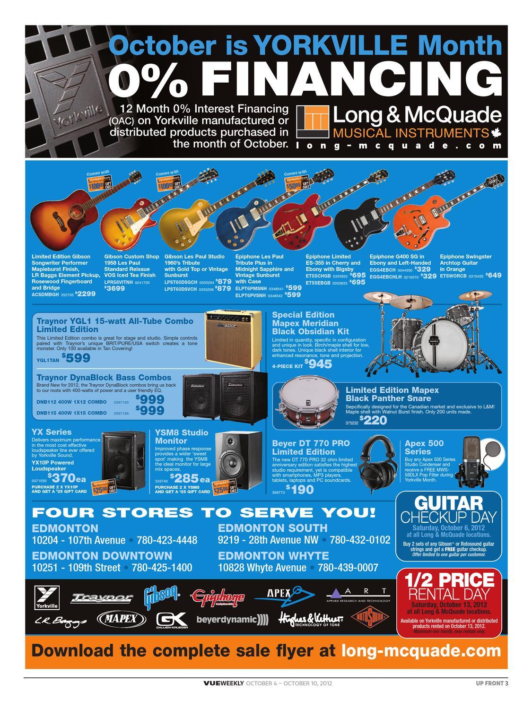 Vue Weekly Oct 4-10 2012 by Vue Weekly - issuu