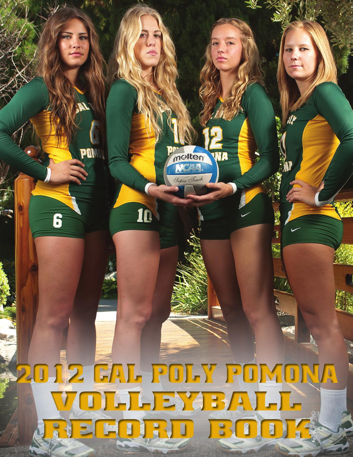 2012 Cal Poly Pomona Volleyball Record Book By Billy Bronco Issuu