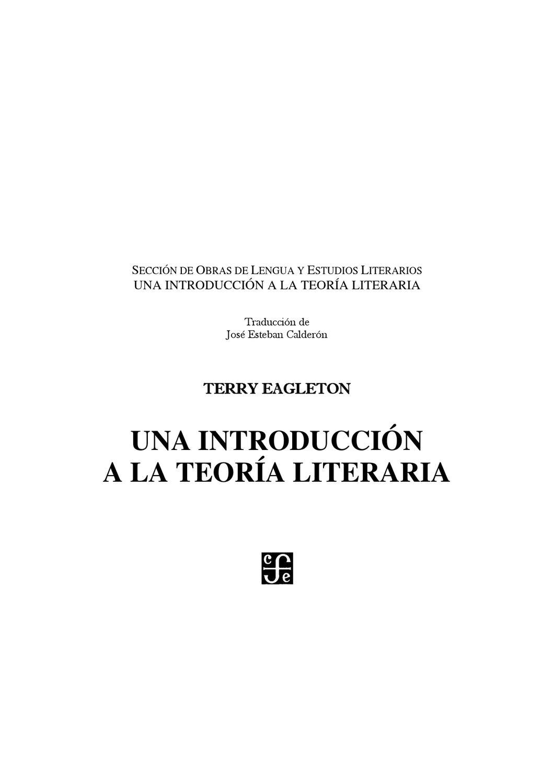 Introducción a la teoria literaria by luz quispe de la cruz - issuu