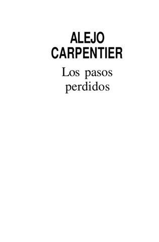 los pasos perdidos by rosmery caso - issuu