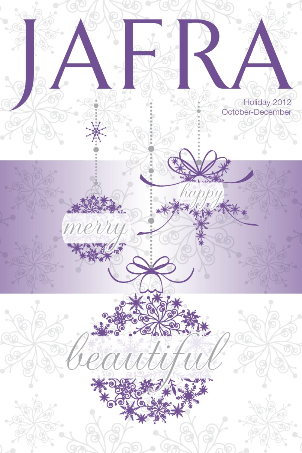 Jafra Holiday Catalog By Beauty Mischella Issuu Set Advance Dynamic Balancing Ampamp 2 Vials Royal Jelly Concentrate
