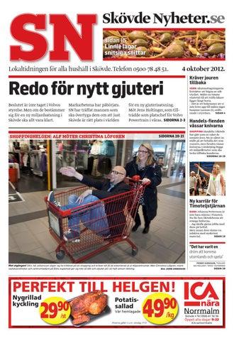 Skövde Nyheter 20121004 by Skövde Nyheter - issuu 6441c2d80c69b