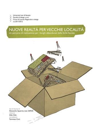 Vecchie Squatrito Realtà Issuu Alessandro Località Nuove Per By SpqMUzVG