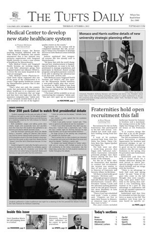 965326762e257 TuftsDaily10-04-2012 by Tufts Daily - issuu