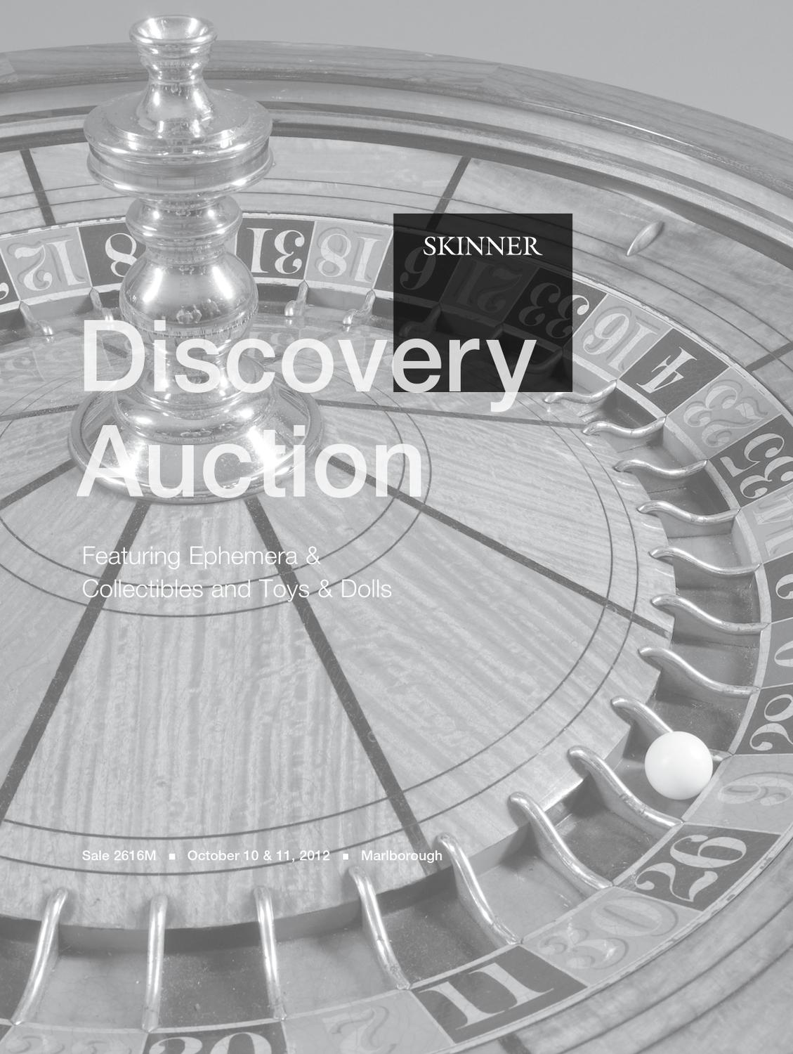 Discovery Featuring Toys Dolls Ephemera Collectibles Skinner Auction 2616m By Skinner Inc Issuu