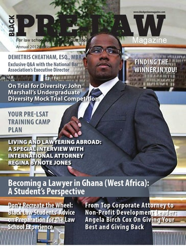 Black pre law magazine annual 2012 edition by black pre law page 1 malvernweather Gallery