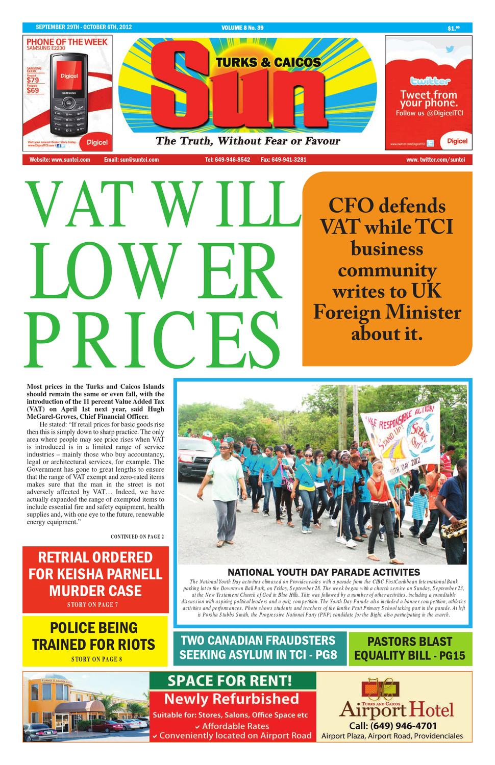 Volume 8 Issue 39 by The SUN Newspaper - issuu