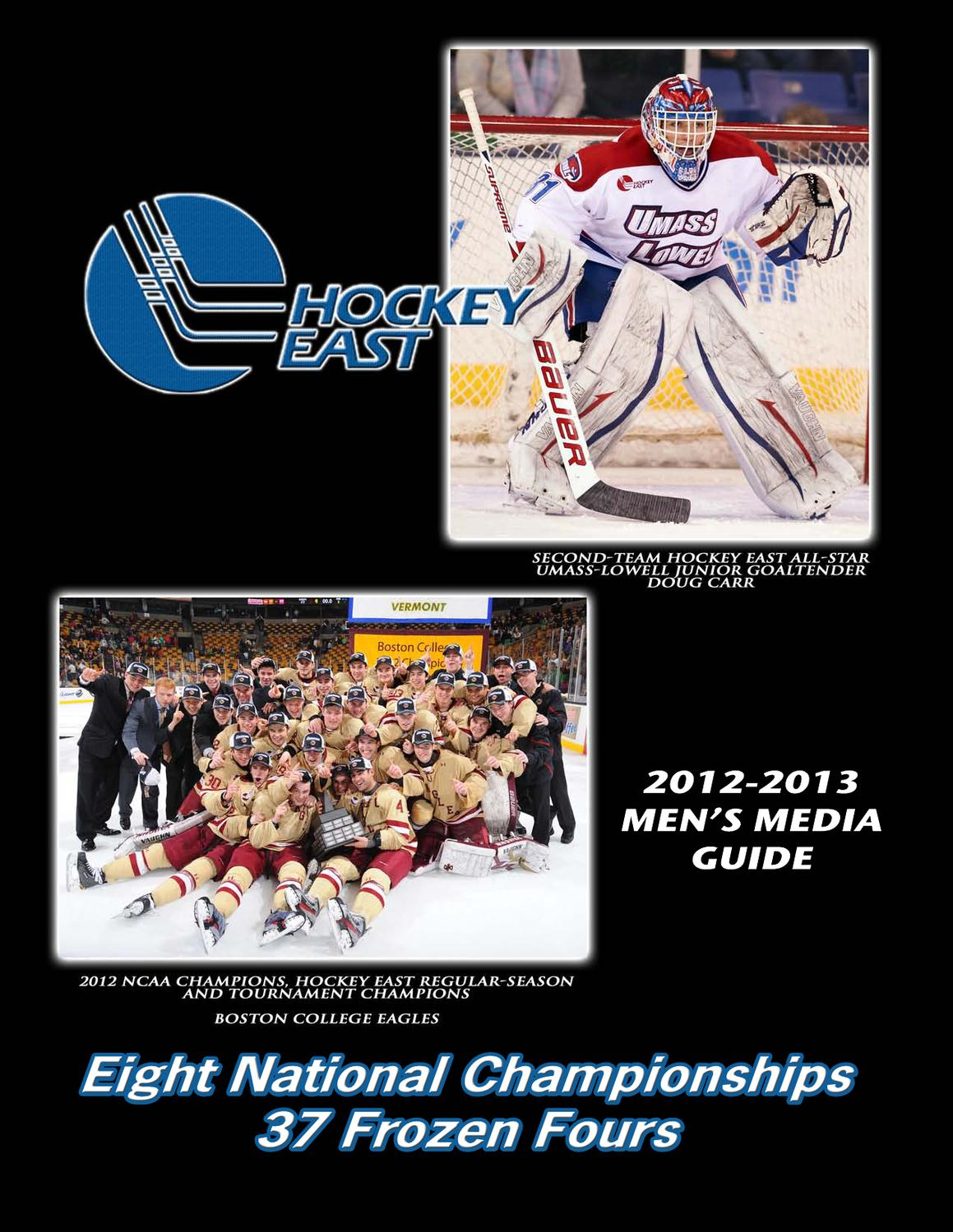 dc68b5fae 2012-13 Hockey East Men s Media Guide by Hockey East Association - issuu