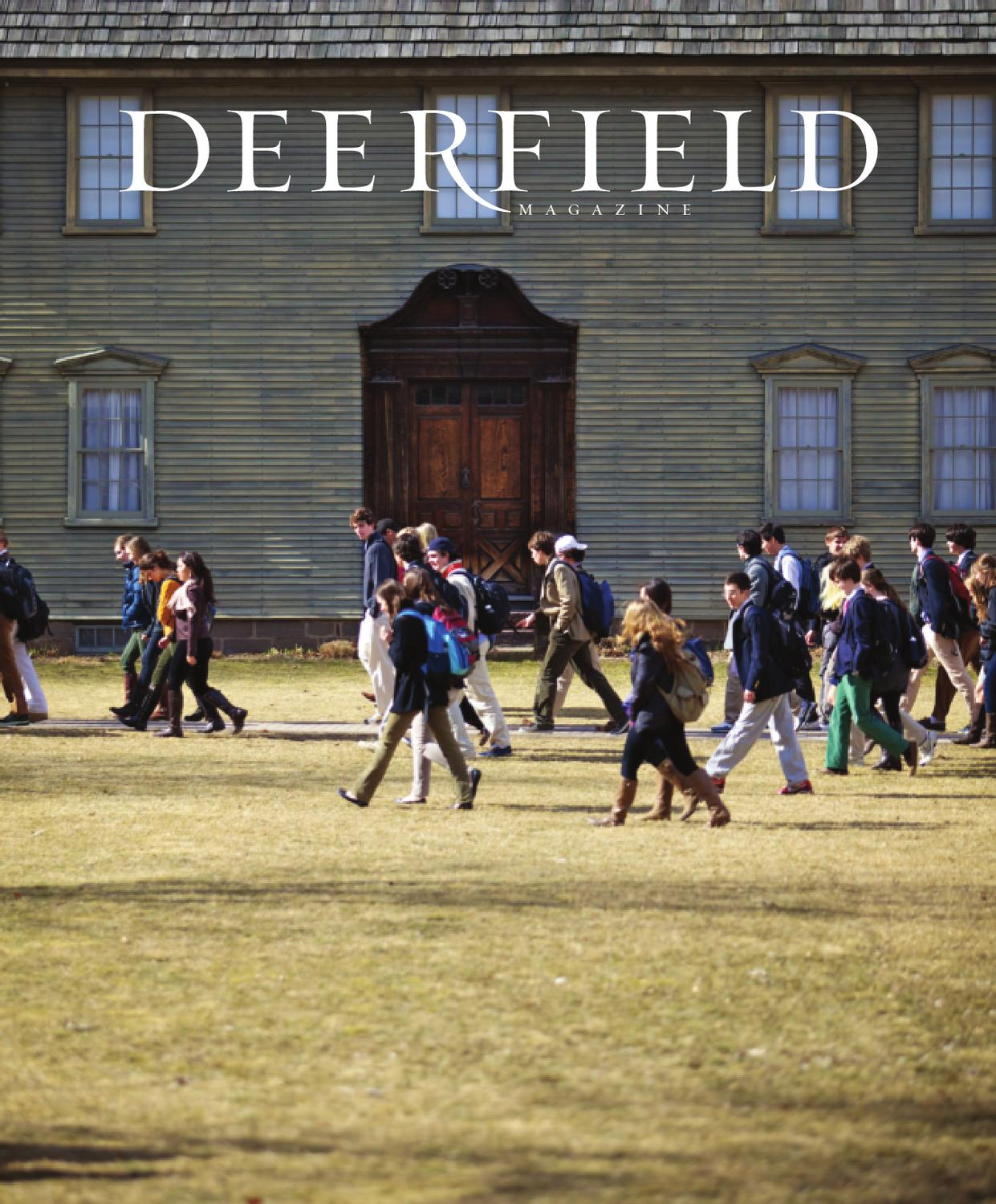 Fall 2012 Deerfield Magazine By Deerfield Academy Issuu