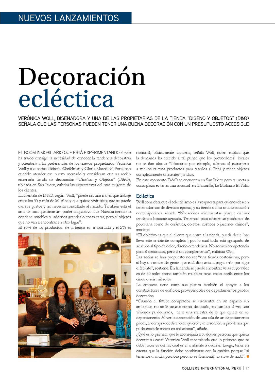 Spatium N°3 by Colliers International Peru - issuu