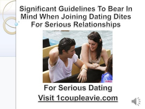 Dating sites relationships