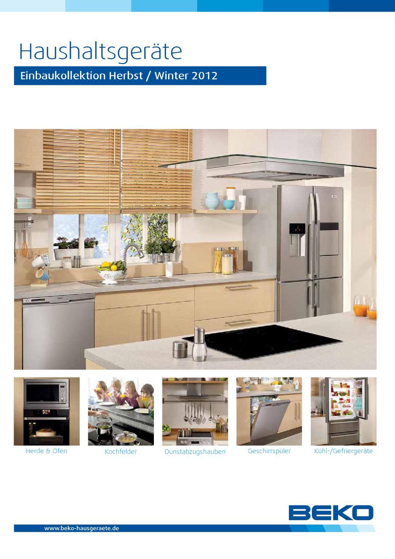beko einbauger te 2012 by gmbh co kg issuu. Black Bedroom Furniture Sets. Home Design Ideas