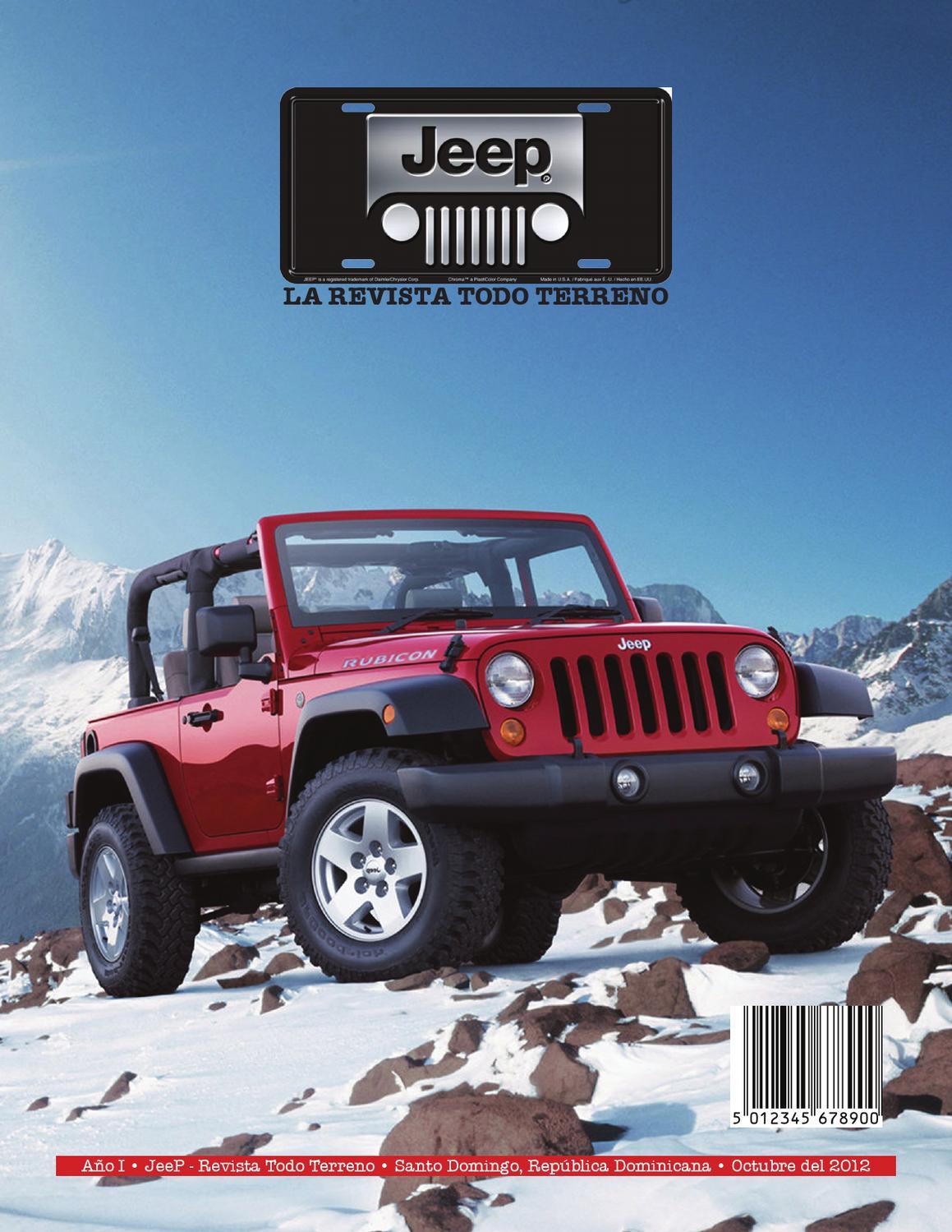 jeep la revista todo terreno by carlos ferreiras issuu. Black Bedroom Furniture Sets. Home Design Ideas