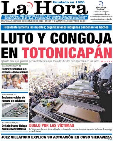 8179ad92d Diario La Hora 05-10-2012 by La Hora - issuu