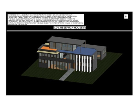The vdl research house case study by rashon washington issuu i was asked to do a case study on a famous architects house there was a choice from many like richard meier schindler etc ccuart Gallery