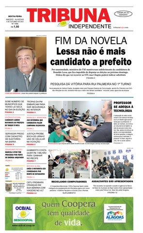 Edição número 1565 - 6 de outubro de 2012 by Tribuna Hoje - issuu 007a052f79e6d