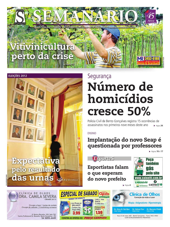 c9af53b1c968e 06 10 2012 - Jornal Semanário by Jornal Semanário - Bento Gonçalves - RS -  issuu