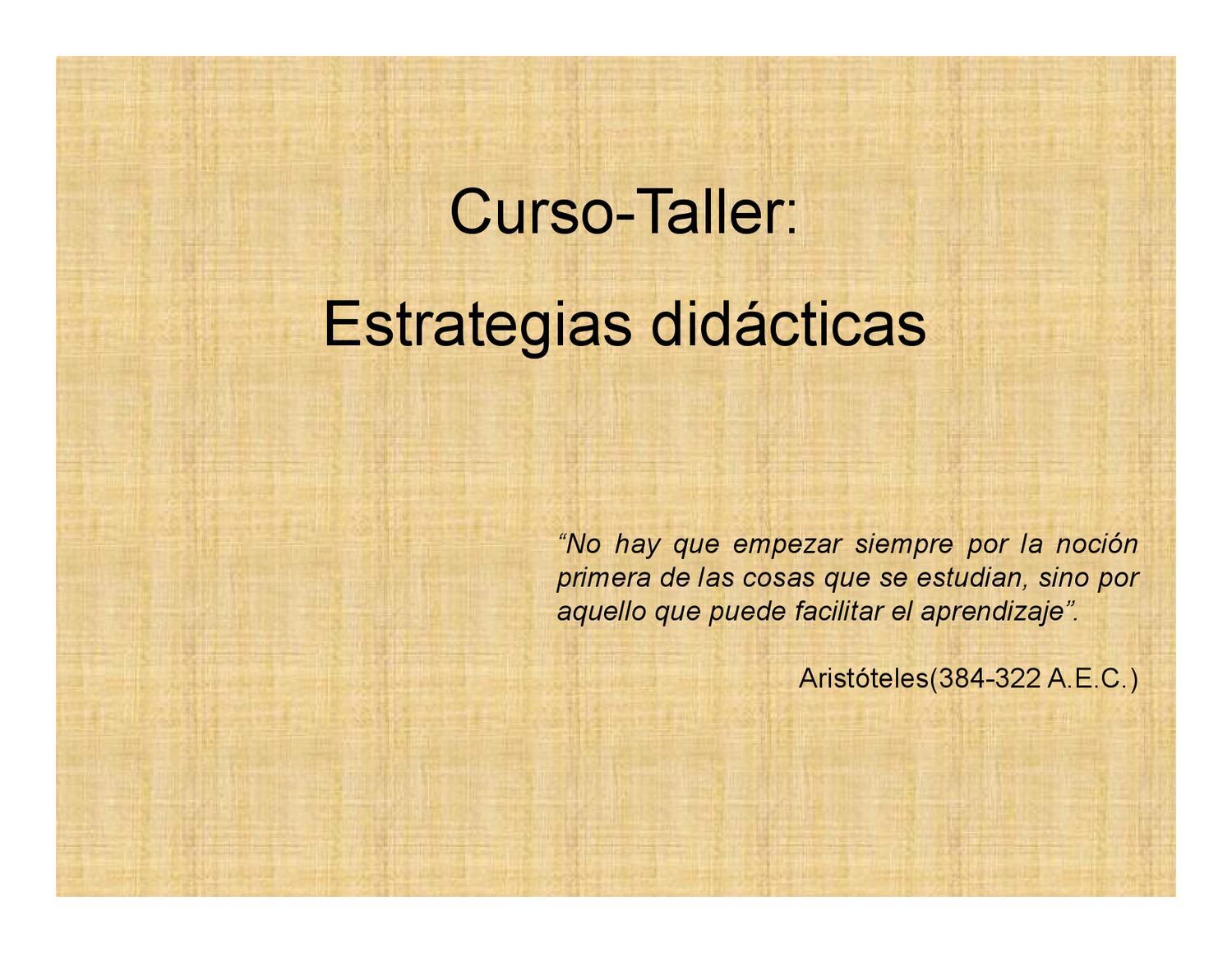 Introducción Estrategias Didácticas By Oscar Noel Angulo