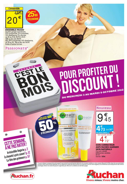 Carte Bancaire Auchan Gratuite.Auchan Catalogue 3 9 Octobre 2012 By Promocatalogues Com Issuu