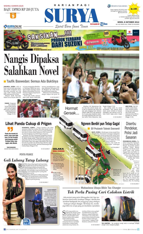 E Paper Surya Edisi 08 Oktober 2012 By Harian Issuu Strong Kangen Water Ph 115 Ukuran 1000 Ml Terapi Air Kelas Dunia Indonesia