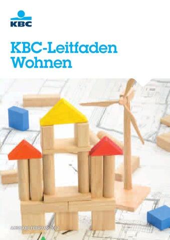 KBC Leitfaden Wohnen By KBC Group   Issuu