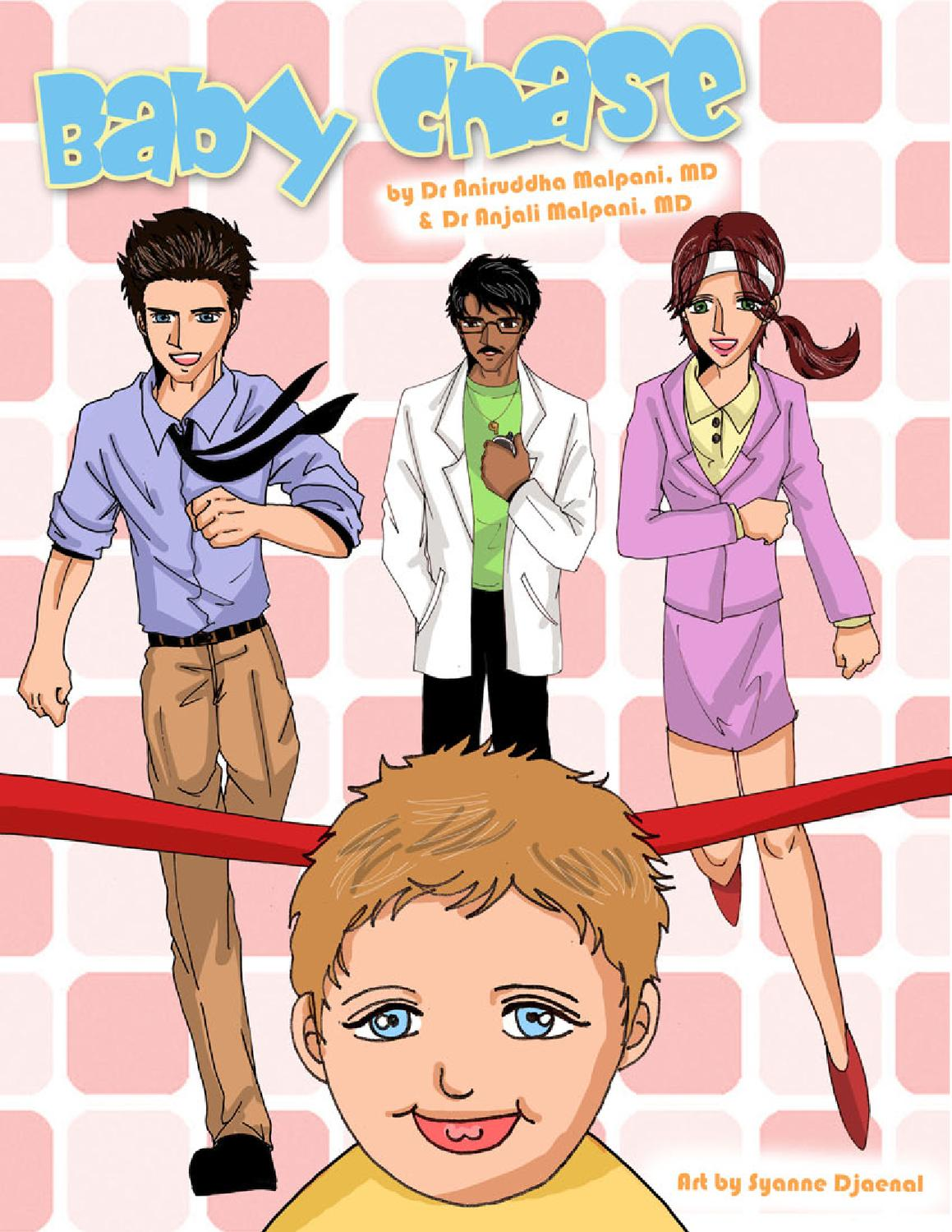 Baby Chase Comic Book