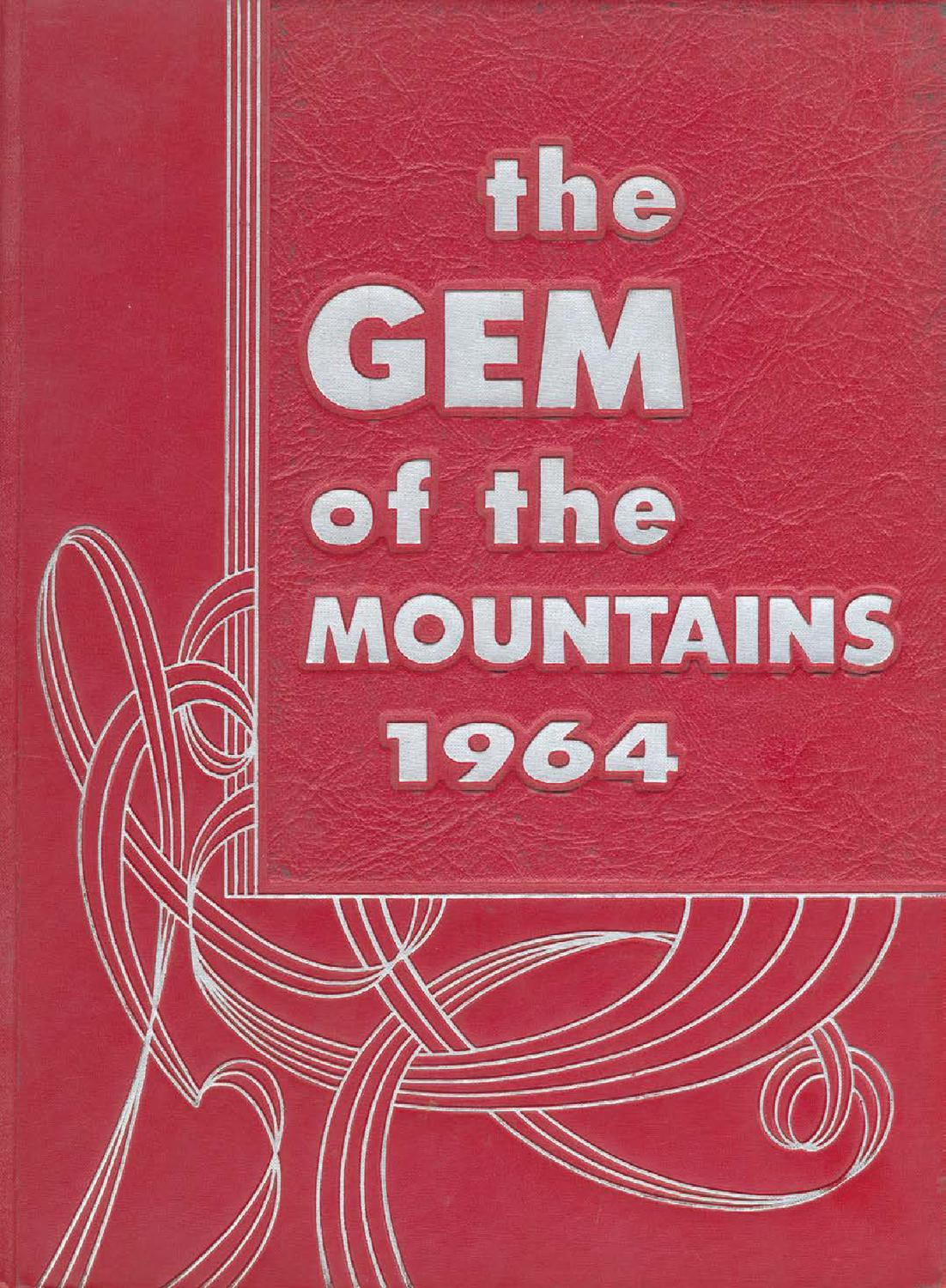 Beste 1964 Gem of the Mountains, Volume 62 - University of Idaho WN-13