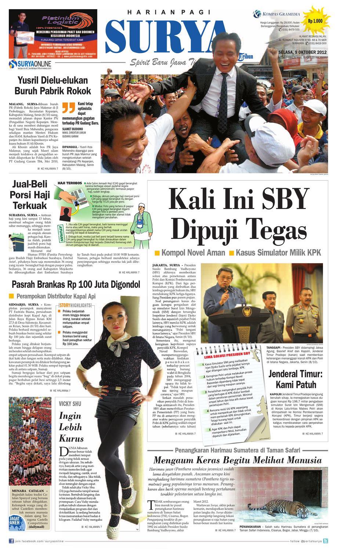 Surya Paper 09oktober2012 By Harian Issuu Sepatu Olahraga Lari Lokal  Fans Veloz N