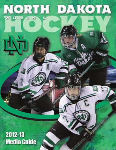 cc359ca2 2012-13 2012-13 NORTH NORTH DAKOTA DAKOTA WOMEN'S WOMEN'S HOCKEY HOCKEY  TABLE OF CONTENTS INTRODUCTION Table of Contents/Quick Facts/Credits . ...
