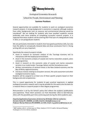 undergraduate experience essay