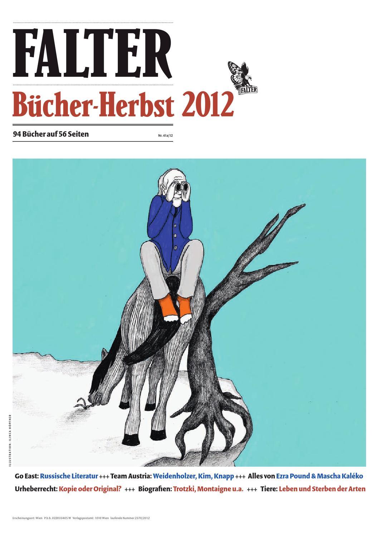Bücher Herbst 2012 by Falter Verlagsgesellschaft m.b.H. - issuu