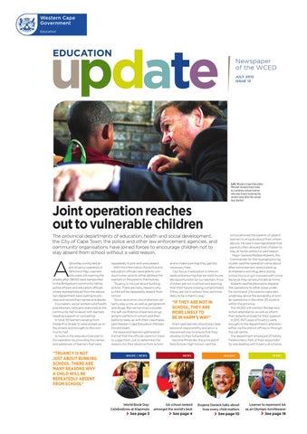 Education update 17 by western cape education department issuu education update 13 fandeluxe Gallery