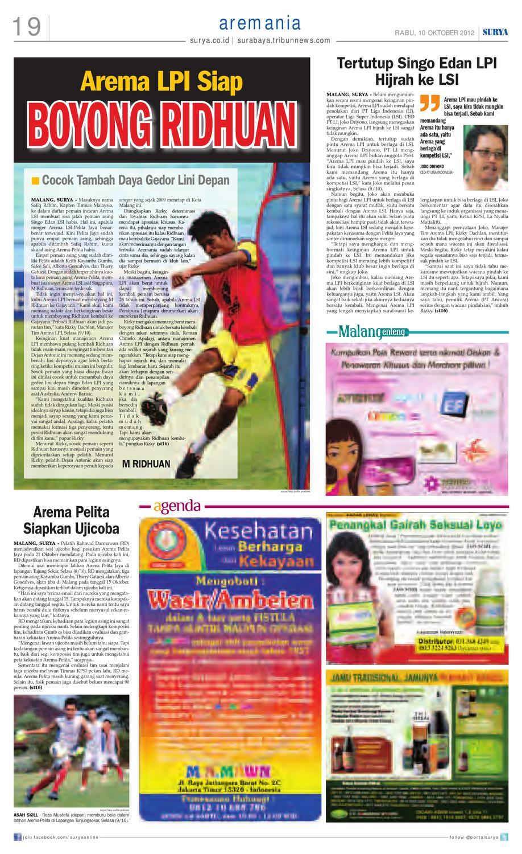 E-paper Surya Edisi 10 Oktober 2012 by Harian SURYA - issuu