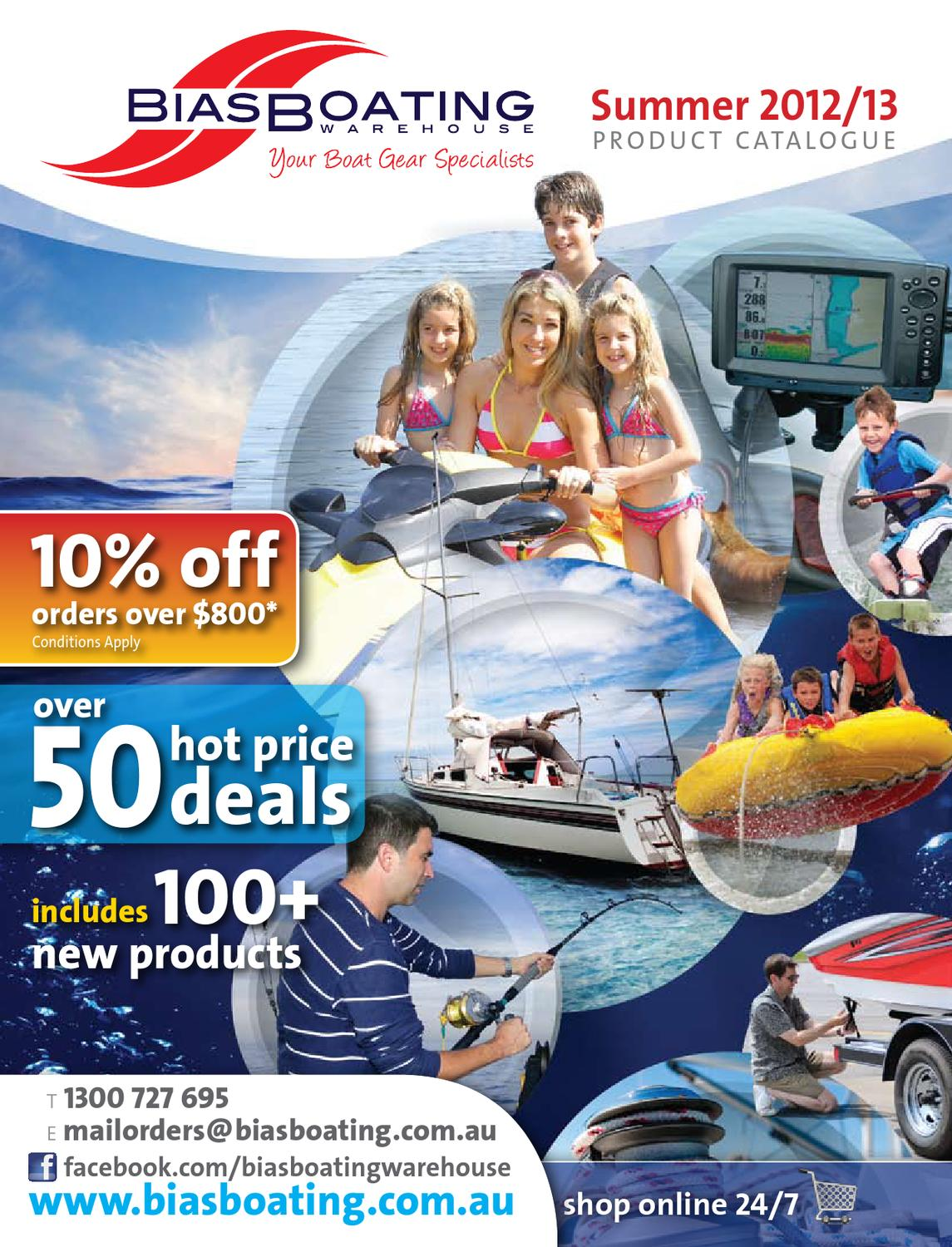 d8af9902a2 2012 13 Bias Boating Summer Product Catalogue by Bias Boating Warehouse -  issuu