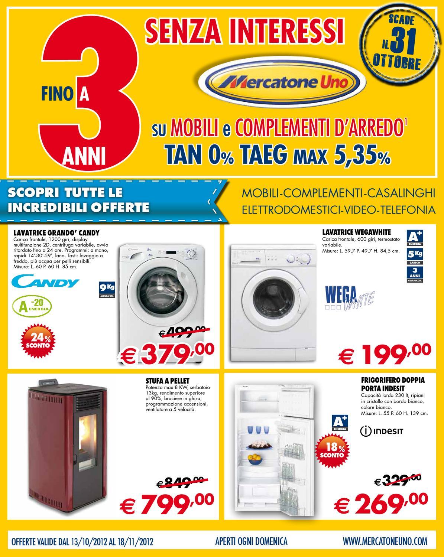 Mercatone uno volantino 13 ottobre 18 novembre 2012 by for Mercatone uno complementi d arredo